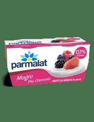 Yogurt Parmalat Magro più cremoso Frutti di Bosco